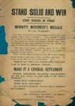 Minority Movement Poster