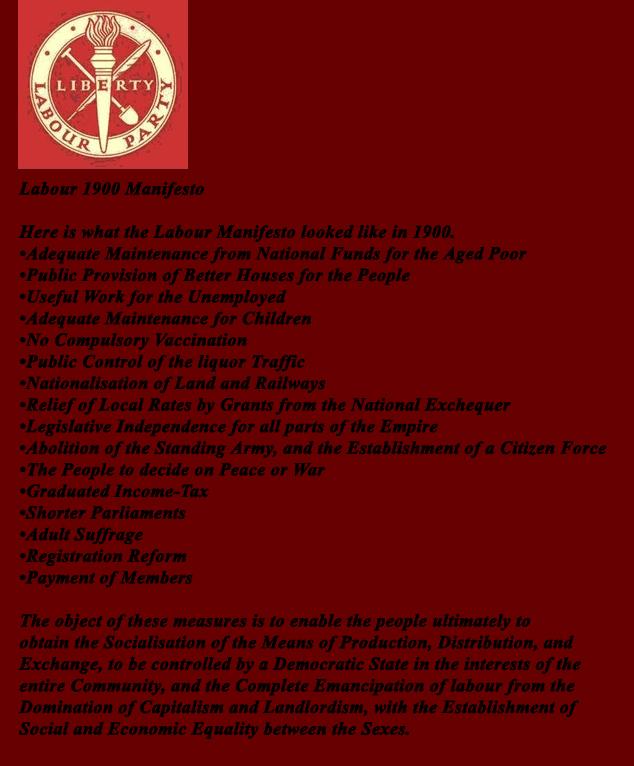 LP 1900 Manifesto